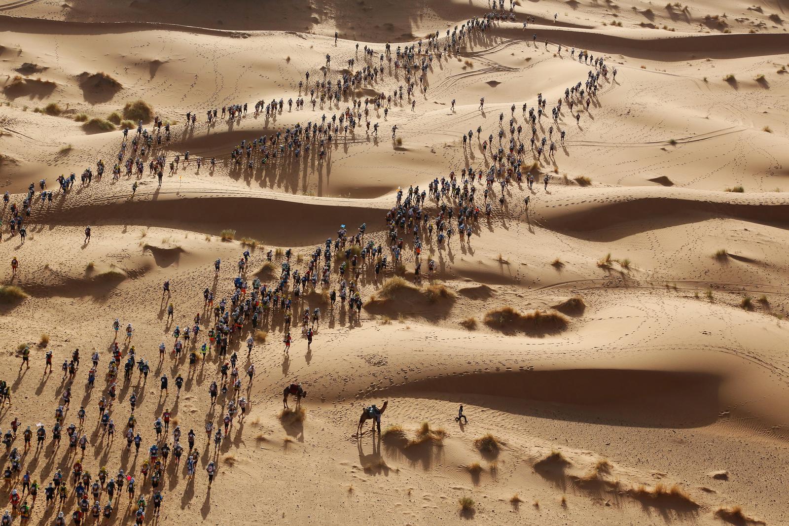 MARATHON DES SABLES 2017  DEPART DES 1180 COUREURS MAROX
