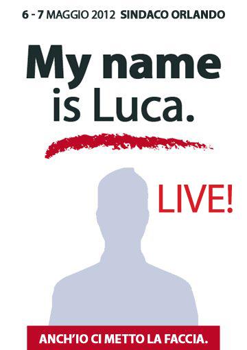 my name is luca de suzanne vega: