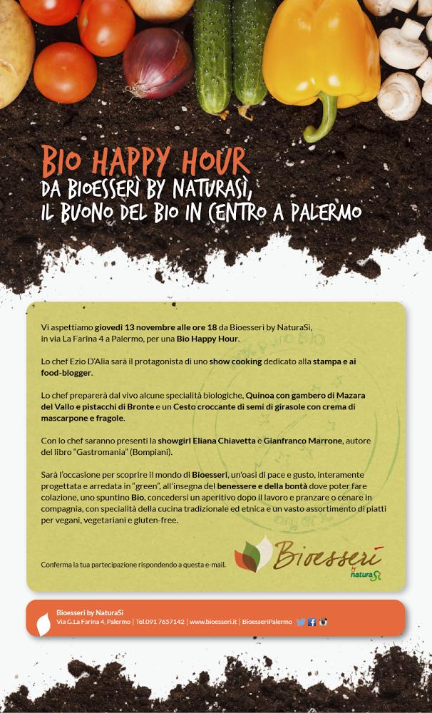 bioesserì ristorante Palermo vegano celiachia