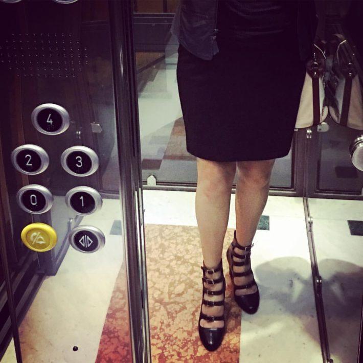 Quelle scarpe che mi piacevano…eccole ai miei piedi!