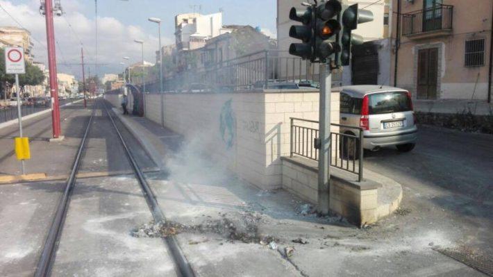 Ancora atti vandalici contro il Tram!