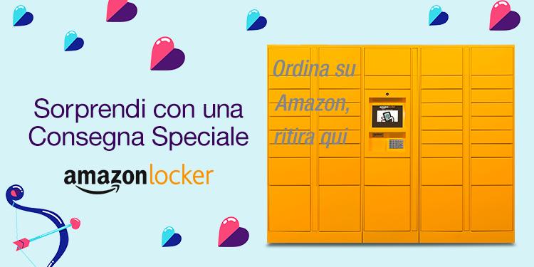 Amazon Locker in Sicilia: Enrica è ad Alcamo!