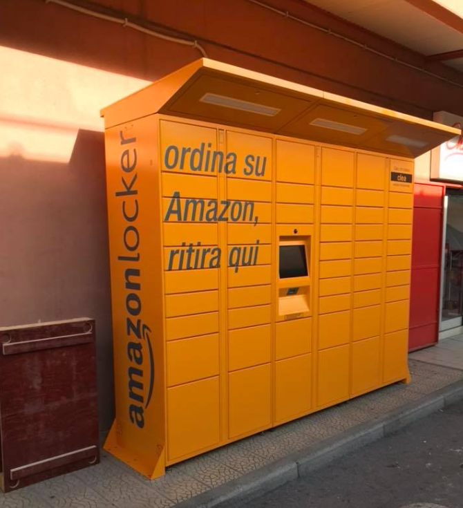 Avvistato il primo Amazon Locker a Palermo