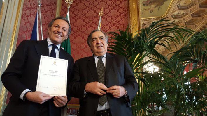Filippo La Mantia premiato a Palermo
