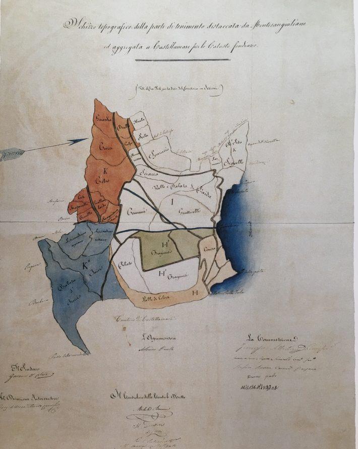 La mappa borbonica di Guidaloca