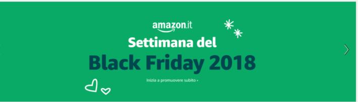 La settimana del Black Friday su Amazon