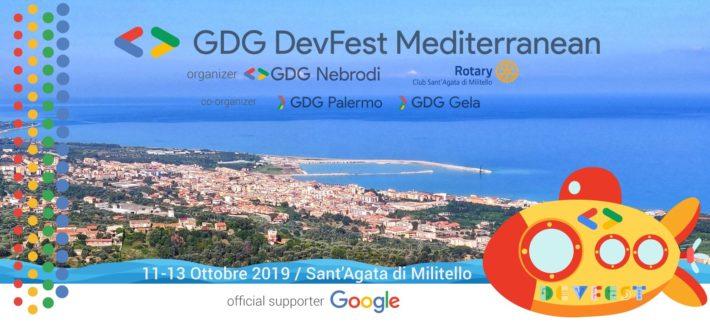 I Google Developer Group a Sant'Agata di Militello per la DevFest Mediterranean