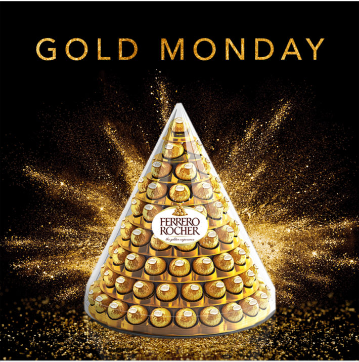 Ferrero Rocher Piramide in esclusiva su Amazon