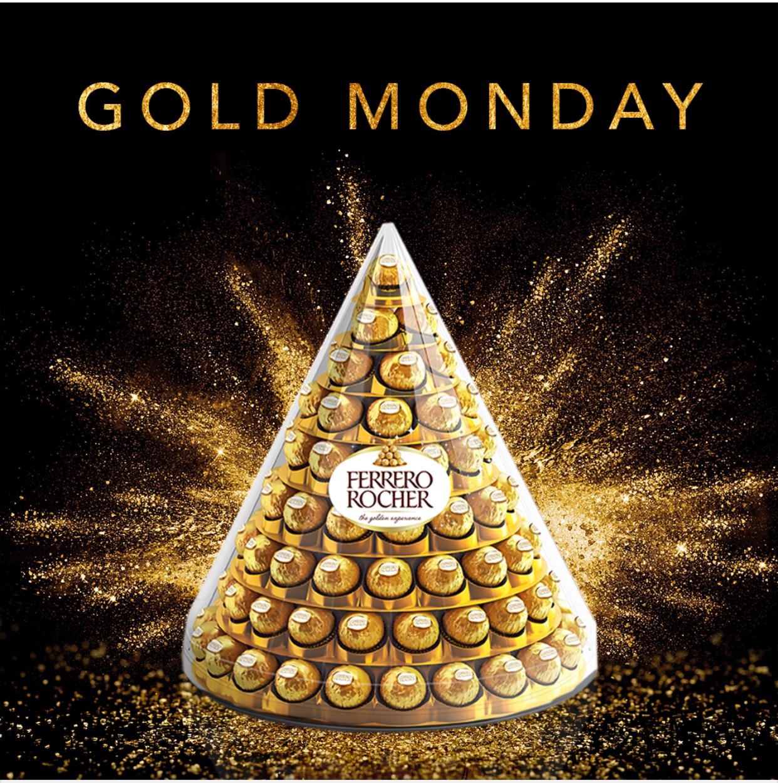 Ferrero rocher piramide amazon